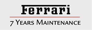 7年間無料のフェラーリ純正メンテナンス・プログラム